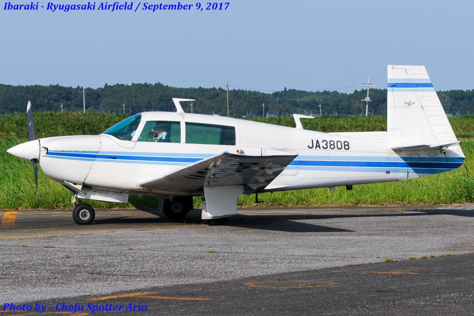 Chofu Spotter Ariaさんの日本個人所有 Mooney M20 (JA3808) 航空フォト