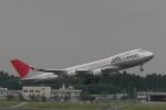 渚のカセットさんが、成田国際空港で撮影した日本航空 747-446F/SCDの航空フォト(写真)