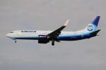 ぼんやりしまちゃんさんが、ドモジェドヴォ空港で撮影したアルロサ航空 737-86Nの航空フォト(写真)