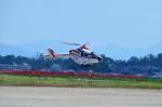 ヘリオスさんが、新潟空港で撮影した朝日新聞社 MD 900/902の航空フォト(写真)