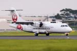 いっち〜@RJFMさんが、鹿児島空港で撮影した日本エアコミューター ATR-42-600の航空フォト(写真)