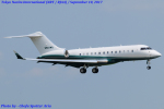 Chofu Spotter Ariaさんが、成田国際空港で撮影したPinnacle Aviation BD-700-1A11 Global 5000の航空フォト(写真)