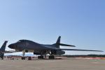 ばとさんが、三沢飛行場で撮影したアメリカ空軍 B-1B Lancerの航空フォト(写真)