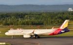 Take51さんが、新千歳空港で撮影したアシアナ航空 A321-231の航空フォト(写真)