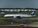 ミク鉄道さんが、成田国際空港で撮影した全日空 777-381/ERの航空フォト(写真)