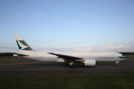 ATOMさんが、新千歳空港で撮影したキャセイパシフィック航空 777-267の航空フォト(写真)