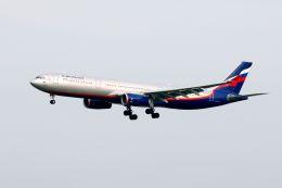 まいけるさんが、スワンナプーム国際空港で撮影したアエロフロート・ロシア航空 A330-343Xの航空フォト(写真)