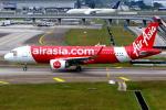 KAW-YGさんが、クアラルンプール国際空港で撮影したエアアジア A320-251Nの航空フォト(写真)