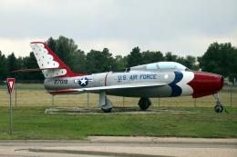 なごやんさんが、シャイアン・リージョナル空港で撮影したアメリカ空軍 F-84F Thunderstreakの航空フォト(飛行機 写真・画像)