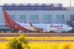 KIMISTONERさんが、台湾桃園国際空港で撮影したバティク・エア 737-8GPの航空フォト(写真)
