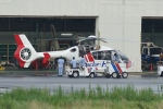 あきらっすさんが、調布飛行場で撮影した東邦航空 EC135T2の航空フォト(写真)