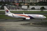 tomobileさんが、ニノイ・アキノ国際空港で撮影したマレーシア航空 737-8FZの航空フォト(写真)