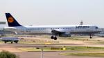 誘喜さんが、ロンドン・ヒースロー空港で撮影したルフトハンザドイツ航空 A321-131の航空フォト(写真)