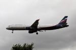 nan1011さんが、ロンドン・ヒースロー空港で撮影したアエロフロート・ロシア航空 A321-211の航空フォト(写真)
