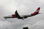 nan1011さんが、ロンドン・ヒースロー空港で撮影したヴァージン・アトランティック航空 A340-642の航空フォト(写真)