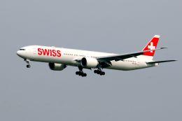 まいけるさんが、スワンナプーム国際空港で撮影したスイスインターナショナルエアラインズ 777-3DE/ERの航空フォト(写真)