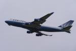 地主さんが、成田国際空港で撮影したユナイテッド航空 747-422の航空フォト(写真)