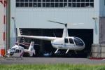 Mizuki24さんが、東京ヘリポートで撮影したつくば航空 R44 Clipper IIの航空フォト(写真)
