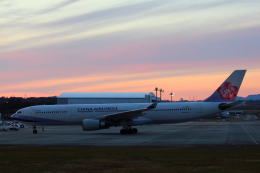 Dickiesさんが、静岡空港で撮影したチャイナエアライン A330-302の航空フォト(写真)