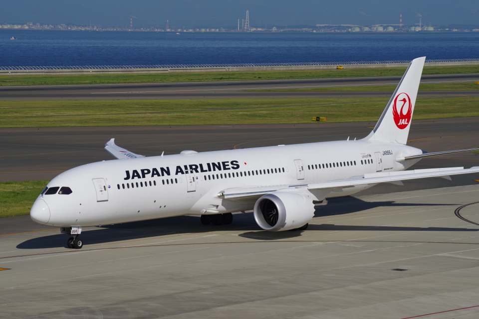 yabyanさんの日本航空 Boeing 787-9 (JA866J) 航空フォト