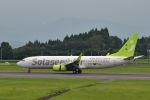 こーせー。さんが、鹿児島空港で撮影したソラシド エア 737-81Dの航空フォト(写真)