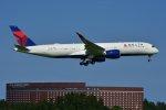 islandsさんが、成田国際空港で撮影したデルタ航空 A350-941XWBの航空フォト(写真)
