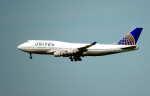 oahuさんが、サンフランシスコ国際空港で撮影したユナイテッド航空 747-422の航空フォト(写真)