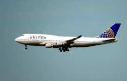 oahuさんが、サンフランシスコ国際空港で撮影したユナイテッド航空 747-422の航空フォト(飛行機 写真・画像)