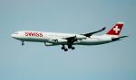 oahuさんが、サンフランシスコ国際空港で撮影したスイスインターナショナルエアラインズ A340-313Xの航空フォト(写真)