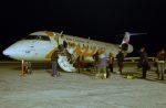 BOSTONさんが、イエローナイフ空港で撮影したエア・カナダ ジャズ CL-600-2B19 Regional Jet CRJ-200ERの航空フォト(写真)