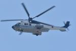500さんが、自宅上空で撮影した陸上自衛隊 EC225LP Super Puma Mk2+の航空フォト(写真)