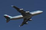 地主さんが、成田国際空港で撮影した大韓航空 747-4B5の航空フォト(写真)