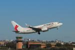 しかばねさんが、シドニー国際空港で撮影したニューギニア航空 737-7L9の航空フォト(写真)