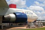 でるちん⊿さんが、ハーツフィールド・ジャクソン・アトランタ国際空港で撮影したデルタ航空 747-451の航空フォト(写真)