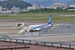 てるぞーさんが、名古屋飛行場で撮影した三菱航空機 MRJ90STDの航空フォト(写真)