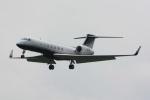 banshee02さんが、成田国際空港で撮影した3M G-V-SP Gulfstream G550の航空フォト(写真)