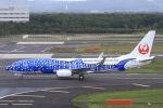 べガスさんが、新千歳空港で撮影した日本トランスオーシャン航空 737-8Q3の航空フォト(写真)