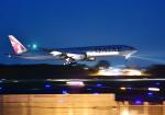雲霧さんが、成田国際空港で撮影したカタール航空 777-3DZ/ERの航空フォト(写真)