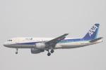 小牛田薫さんが、北京首都国際空港で撮影した全日空 A320-214の航空フォト(写真)
