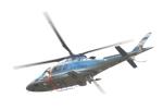 41nenさんが、奈良県生駒市で撮影した奈良県警察 A109E Powerの航空フォト(写真)
