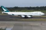 tyusonさんが、成田国際空港で撮影したキャセイパシフィック航空 747-467F/ER/SCDの航空フォト(飛行機 写真・画像)