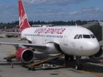 BOSTONさんが、サンフランシスコ国際空港で撮影したヴァージン・アメリカ A320-214の航空フォト(写真)