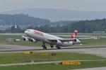 nobu2000さんが、チューリッヒ空港で撮影したスイスインターナショナルエアラインズ A340-313Xの航空フォト(写真)