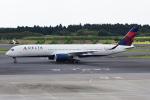 sky77さんが、成田国際空港で撮影したデルタ航空 A350-941XWBの航空フォト(写真)