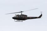 おふろうどさんが、防府北基地で撮影した陸上自衛隊 UH-1Jの航空フォト(写真)