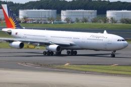 tyusonさんが、成田国際空港で撮影したフィリピン航空 A340-313Xの航空フォト(飛行機 写真・画像)