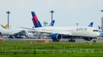 にっしーさんが、成田国際空港で撮影したデルタ航空 A350-941XWBの航空フォト(写真)