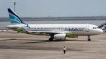 2wmさんが、マカオ国際空港で撮影したエアプサン A320-232の航空フォト(写真)