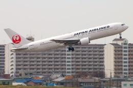 Tomo_ritoguriさんが、伊丹空港で撮影した日本航空 767-346/ERの航空フォト(写真)