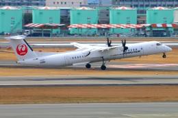 Tomo_ritoguriさんが、伊丹空港で撮影した日本エアコミューター DHC-8-402Q Dash 8の航空フォト(写真)